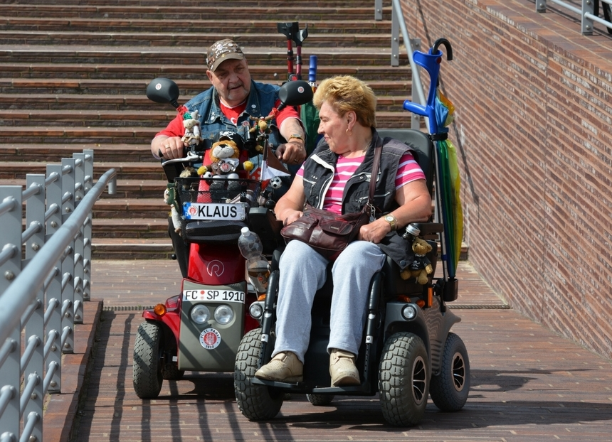 Mobility aids wheelchair scooter